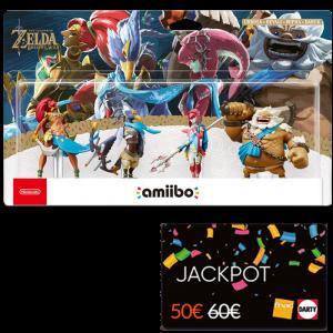 amiibo prodiges cartes jackpot fnac