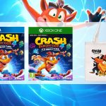 crash bandicoot 4 bonus totebag tote bag multi ps4 et xbox v1