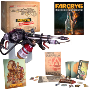 far cry 6 collector pc visuel produit