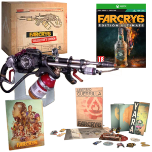 far cry 6 collector xbox visuel produit