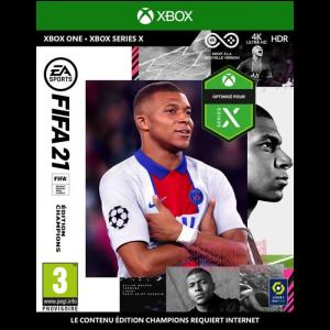 fifa 21 visuel produit definitif edition champions xbox one