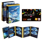 flight simulator deluxe edition pc carte jackpot visuel produit