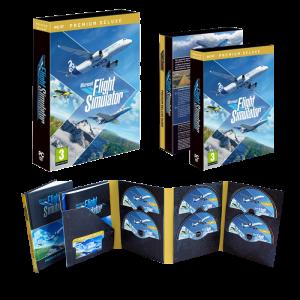 flight simulator deluxe edition pc visuel produit