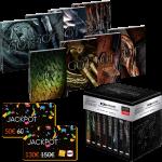 game of thrones intégrale 4k steelbook visuel produit cartes jackpot fnac