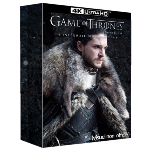 game of thrones intégrale blu ray 4K visuel produit non officiel