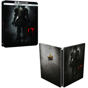 it 4k steelbook blu ray visuel produit