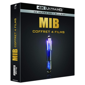 men in black coffret 4 films intégrale blu ray 4K