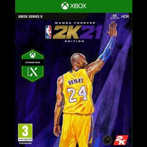 nba 2K21 mamba forever edition xbox series x visuel produit