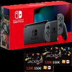 nouvelle nintendo switch grise cartes jackpot fnac visuel produit