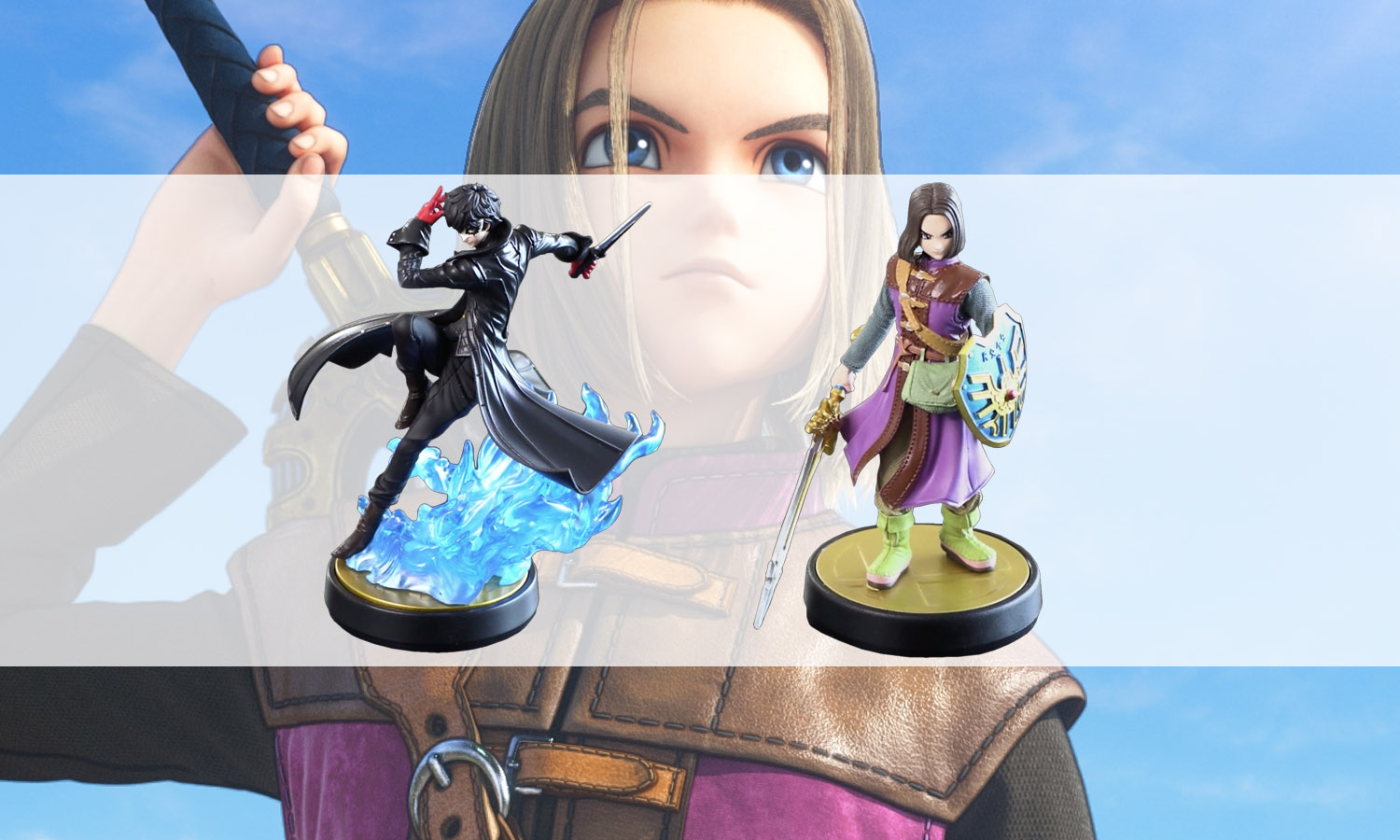 slider amiibo dragon quest et persona 5 v2