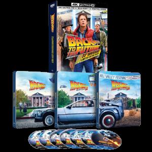 trilogie 4K collector Retour Vers le Futur visuel produit