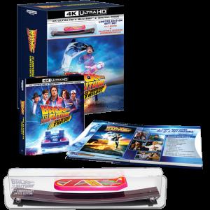 trilogie 4K collector retour vers le future visuel produit