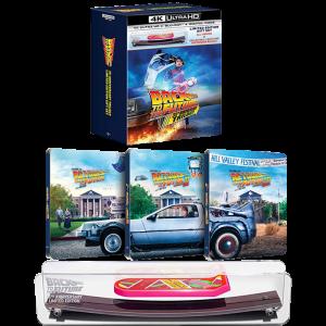 trilogie retour vers le futur 4K steelbook mini hoverboard