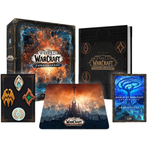 world of warcraft shadowlands collector pc visuel produit