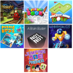 6 Mini jeux offerts switch QUbic games