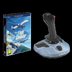 Microsoft simulator avec manette joystick pour pc visuel produit standard