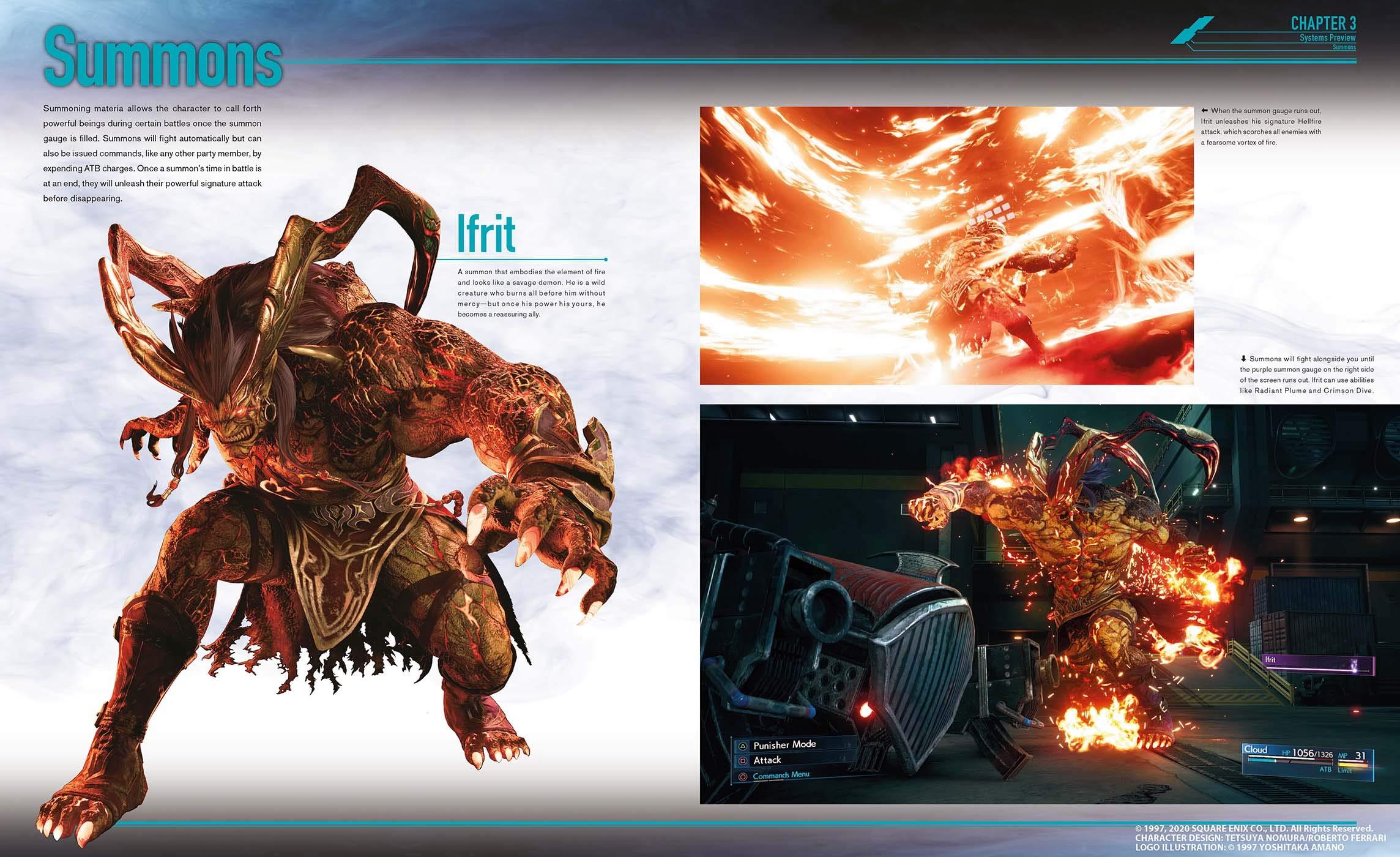 artbook final fantasy 7 remake contenu 2