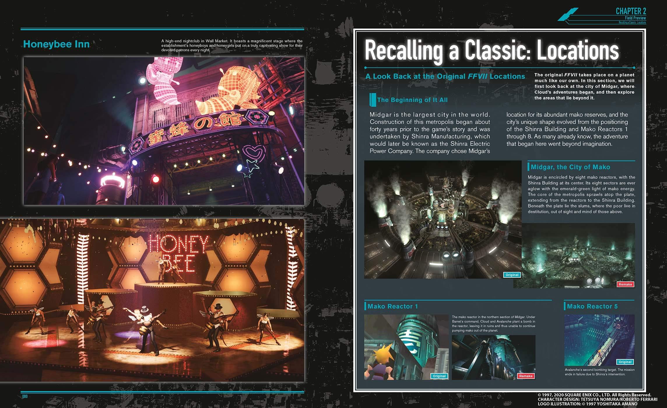 artbook final fantasy 7 remake contenu 4