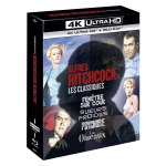 coffret hitchcock 4 films 4k