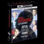 coffret hitchcock 4 films 4k