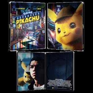detective pikachu 4K steelbook visuel produit