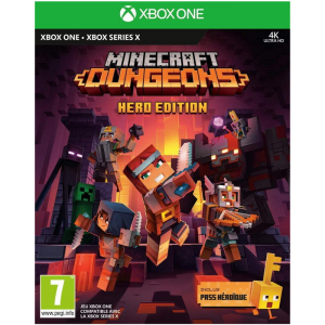 minecraft dungeon xbox hero edition visuel produit