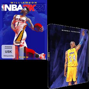 nba 2K21 steelbook xbox one series x visuel produit