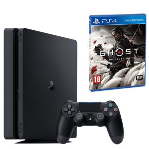 pack ps4 slim standard avec ghost of tsushima offert