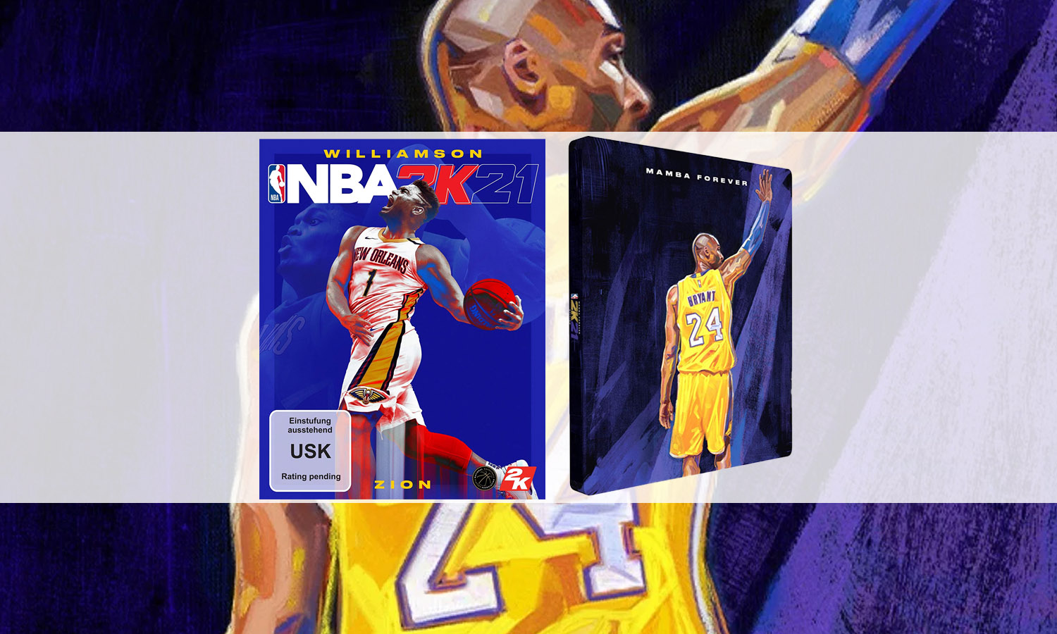 slider nba 2K21 PS5 steelbook slider