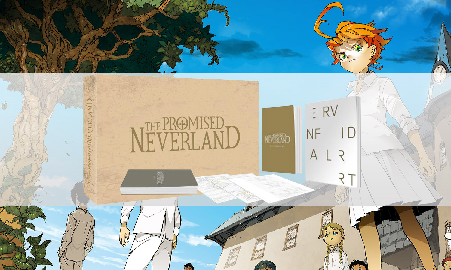 slider the promised neverland collector blu ray