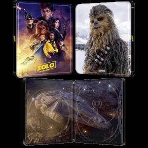 solo star wars story 4K steelbook visuel produit