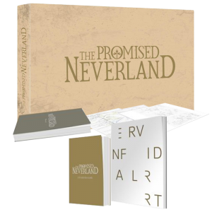 the promised neverland visuel produit collector blu ray