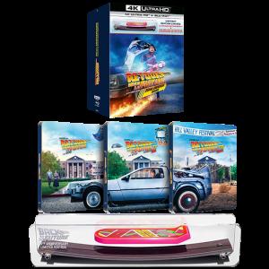 trilogie retour vers le futur 4K steelbook hoverboard visuel produit officiel FR
