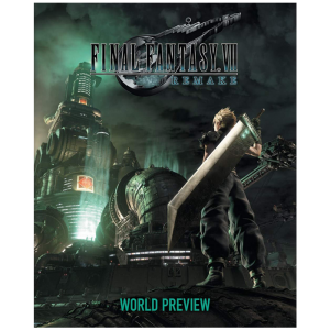 visuel produit artbook final fantasy remake VII 7