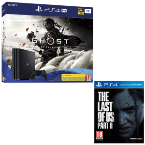 visuel produit pack ps4 pro ghost of tsushima last of us 2