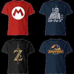 2 t-shirts enfant pour 14 99 euros zavvi 26 09 20