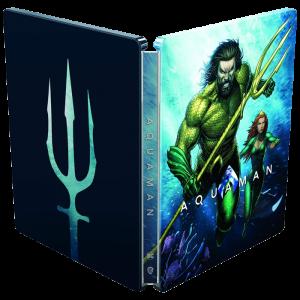 Aquaman Blu Ray 4K Steelbook viseul produit