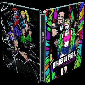 Birds of Prey et la fantabuleuse Histoire de Harley Quinn 4K blu ray SteelBook visuel produit