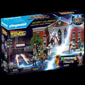 Calendrier de l'Avent Retour vers le Futur Playmobil visuel produit