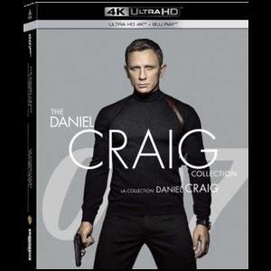 Coffret James Bond 4K Collection Daniel Craig 4 films visuel produit