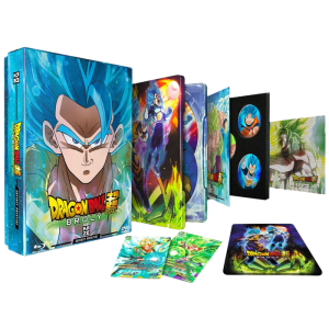 Dragon Ball Super Broly Blu ray Steelbook