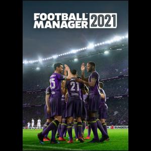 Football manager 2021 PC dematerialise visuel produit