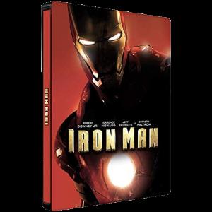 Iron Man Blu Ray 4K Steelbook visuel produit