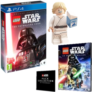 Lego Star Wars Saga Skywalker Edition Deluxe ps4 visuel produit