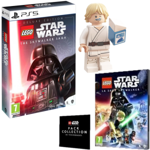Lego Star Wars Saga Skywalker Edition Deluxe ps5 visuel produit