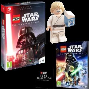 Lego Star Wars Saga Skywalker Edition Deluxe switch visuel produit