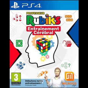 Professeur Rubik's Entraînement Cérébral PS4 visuel produit