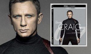 SLIDER Coffret James Bond 4K Collection Daniel Craig 4 films