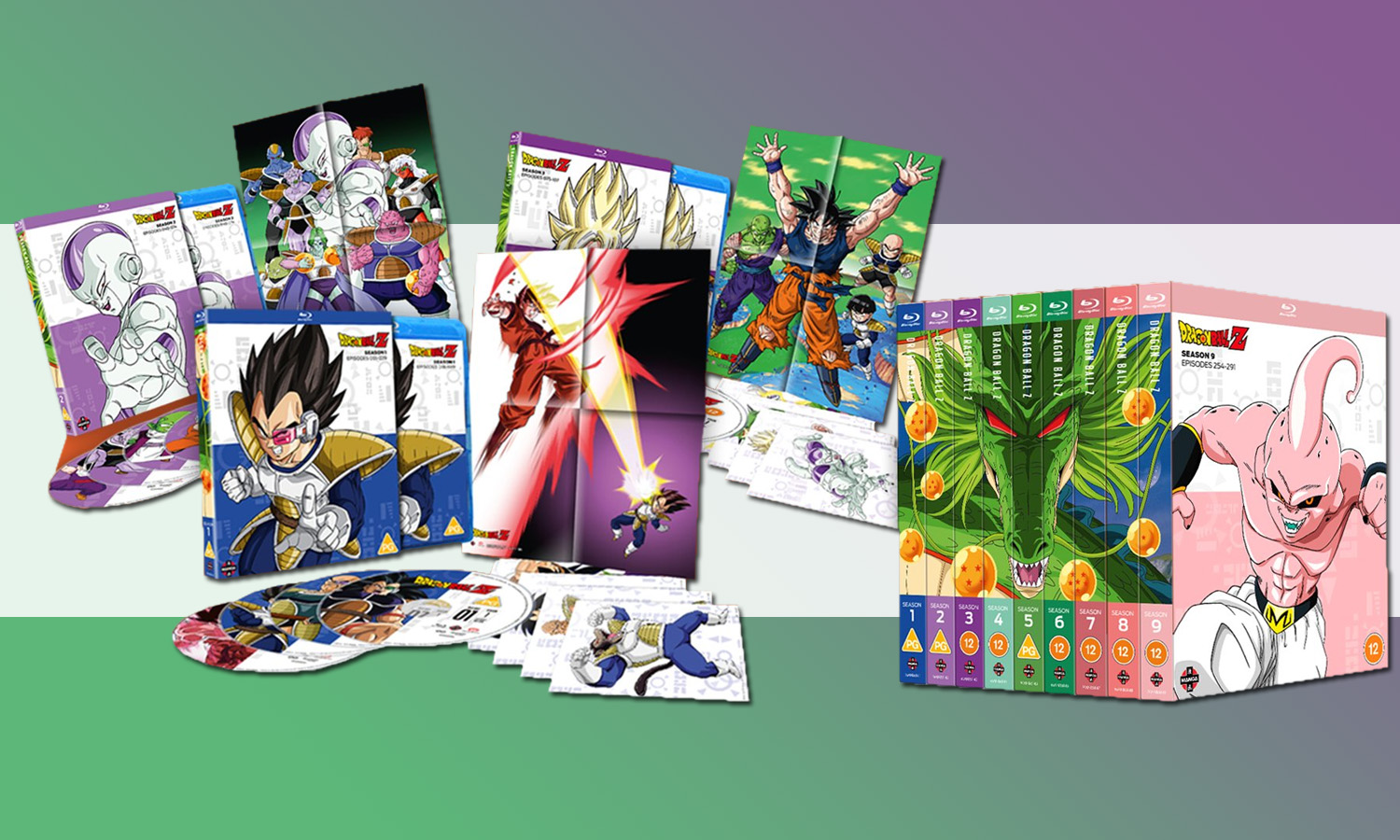 SLIDER intégrale collector dragon ball z blu ray