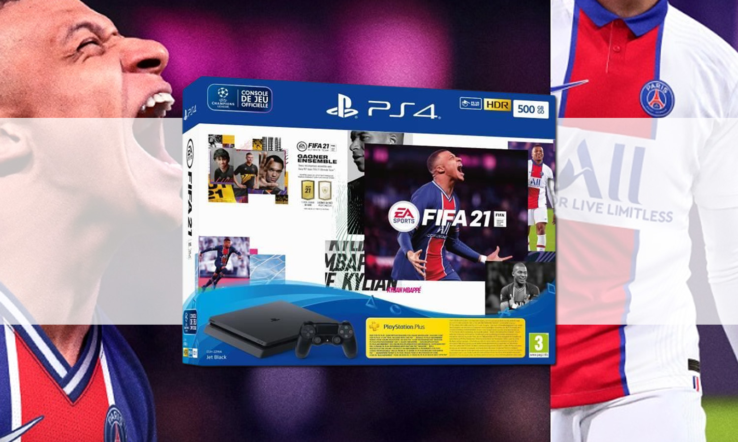 SLIDER pack ps4 slim fifa 21 v1